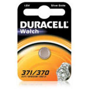 DURACELL D371/370 Batteria a bottone in Ossido d'Argento (SR69, SR920SW, SR69HD