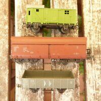 Piko H0 Konvolut 3 x Güterwagen mit Selbstentladewagen Fad - OOt DR Epoche 4