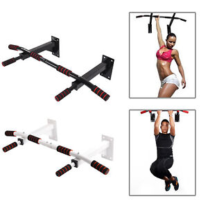 Home Pull Up Bar Wall Mounted Frame Exercise Chin Iron Gym Crossfit Fitness uk