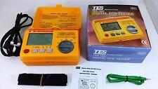 TES Digital RCD (ELCB) Tester TES-1900 230V-+10% 50Hz 10VA CAT III Max 300V