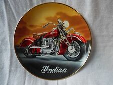 Royal Doulton decorative plate, The 1942 Indian 442 motorcycle, ltd edition