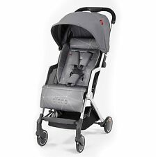 Diono Traverze Editions Super-Compact Lightweight Travel Stroller in Grey Linear