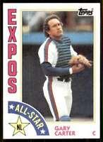 1984 Topps Gary Carter Expos #393