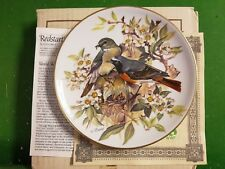 Red Start Plate from Band's Songbirds of Europe for WWF by Titschenreuth