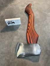 New listing Vintage Plumb Usa camp fire axe hatchet Polished custom Jesse Reed handle