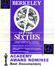 BERKELEY IN THE SIXTIES - VHS - PAL - NEW - Never played!! - Very rare!! - Doco