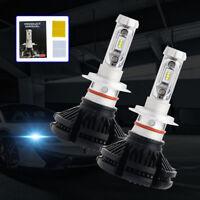 H3 Car LED Headlight Bulb X3 Light 50W Front Conversion Lamp 3000K 6500K 8000K