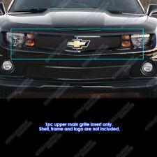 Fits 2010-2013 Chevy Camaro Short W/Logo LT/LS/RS/SS Black Mesh Grille