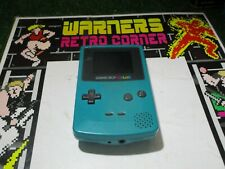 games console turquoise Nintendo game boy color GB retro Video game official