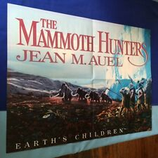 THE MAMMOTH HUNTERS: PROMOTIONAL POSTER - BY JEAN M. AUEL