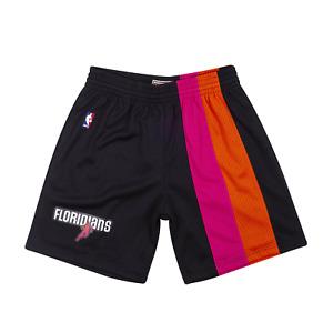 Mitchell & Ness Black NBA Miami Heat 2005-06 Swingman Shorts