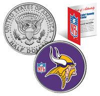 MINNESOTA VIKINGS  NFL JFK Kennedy Half Dollar US Coin  *Officially Licensed*