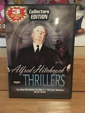 Alfred Hitchcock - Thrillers (DVD, 2003, Collectors Edition)