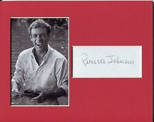 Russell Johnson Gilligan's Island The Professor Signed Autograph Photo Display