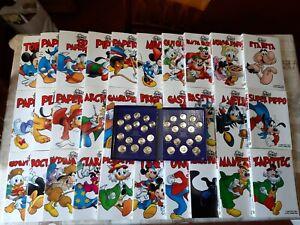 I Mitici Disney Collezione Completa Con Monete