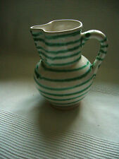 Gmundner Keramik, grüngeflammt, großer Krug, 21 cm, 1 1/2 l, unbenutzt