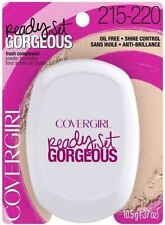 Covergirl Ready Set Gorgeous Pressed Powder Foundation 215-220 Medium Oil Free