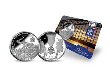 100ste NIJMEEGSE VIERDAAGSE PENNING 2016 BU-kwaliteit in coincard (ZEER SCHAARS)