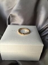 Original Pandora Ring, 14 Kt Gold mit ein Diamant