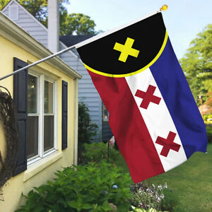 UV Fade Resistant Lmanburg Flag L'manburg Flying Banner Dream Garden Acces