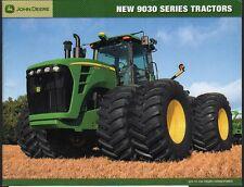 """John Deere """"9030 Series"""" 325 - 530hp Tractor Brochure Leaflet"""