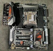 More details for asus strix x99 gaming intel socket 2011-3 motherboard