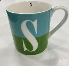 Kate Spade Lenox Letter S Whats in a Name Mug