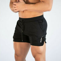 Men's Casual Shorts Gym Training Running Trousers Sports Workout Jogging Pants