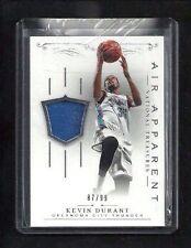 Kevin Durant National Treasures AIR APPARENT Jersey #/99! Thunder Warriors MVP!