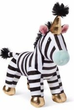 NEW Target Oh Joy! Baby Soft Plush Toy Zebra with gold hat and feet