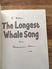 The Longest Whale Song, Signed By Jacqueline Wilson..( To Bethan)