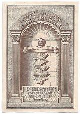 KARL VAL. KANNENGIESSER: Exlibris für Patenbureau Derichsweiler Dresden