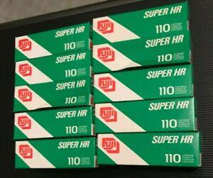 10x Fuji Super HR 100 ISO 110mm Expired film fuji kodak agfa pocket lomo