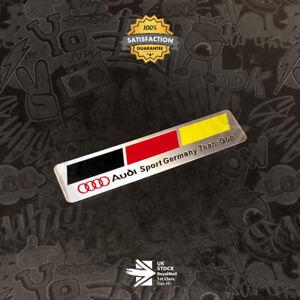 Audi Sport Germany Team Goh Badge Emblem 3D TT TTS TTRS S3 Q7 S Line Quattro 30