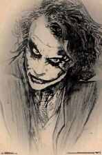 Batman The Dark Knight Joker Sketch 22x34 Wall Poster