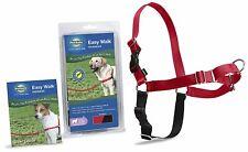 PetSafe Easy Walk Dog Harness Adjustable High-Quality Nylon Medium Large Red