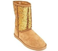 Lamo Sequin Girl Suede Pull-on Boots PICK SIZE & COLOR