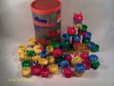 (Q2) VINTAGE SLINKY FORMATIONS CREATIVE BUILDING TOY 68 PIECES  STOCK NO. 2649