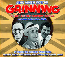 CD SING WHEN YOUR GRINNING GREAT BRITISH COMEDY 1926 - 1956 ASKEY MILLER HANDLEY