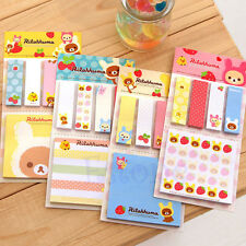 Post-It Bookmark Point It Marker Memo Flags Sticky Notes Strawberry Bear Sticker