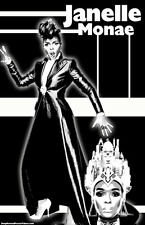 "Janelle Monae ""Black Light"" Poster"