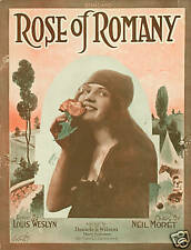 1919 - Rose of Romany - Pfeiffer, Lumiere, Moret