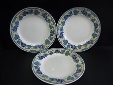 7 PIECE CHURCHILL PATTERN CCH13 - GRAPE AND LEAF MOSAIC DINNER SET PIECES