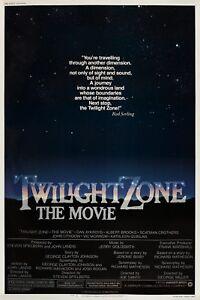 Twilight Zone: The Movie 1983 Movie Poster Print A0-A1-A2-A3-A4-A5-A6-MAXI 921