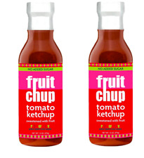 Keto: Low Carb Fruitchup Paleo Tomato Ketchup 2-Pack (4 carbs)