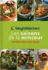 Livre cuisine et santé les saisons de la minceur Weight Watchers book