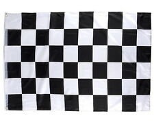 "3 CHECKERED FLAG 3 X 5 FEET 36"" X 60"" NASCAR RACING BLACK AND WHITE FLAGS"