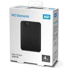 Western Digital 4TB Elements Portable External Hard Drive - USB 3.0 WDBU6Y0040BB