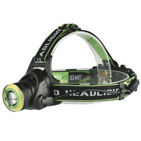 Rechargeable Xml-T6+Cob Headlamp 18650 Headlight Head Lamp Torch  Rdr RK