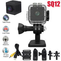SQ12 HD 1080P Mini Car DV DVR Sport Camera Spy Dash IR Night Vision Kit WT